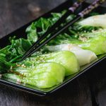 Low-Cal Steamed Bok Choy