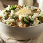 Traditional Buttery, Creamy Colcannon
