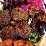 Free Falafels for Earth Day at Van Aken!