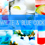 10+ Boozy Red, White & Blue Cocktails
