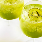 Kiwi Fizz Cocktail