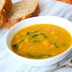 Quick & Healthy: 6 Ingredient Butternut Squash Soup