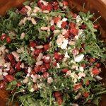 Arugula Cannellini Bean Salad