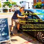 Curbside Pickup Your Brew–Just Order and Honk!
