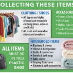 Contactless Clothing Drive–Today!