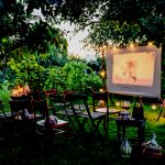 How to Make a Movie Theatre…in Your Backyard.