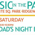 Tonight: Ridgewood's Dad's Band Plays in the Park