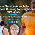 Neighbors Running for Neighbors: SSA's Virtual 5K!
