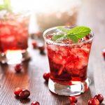 Refreshing Cranberry Mint Mojito