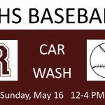 RHS Baseball Car Wash