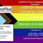 LGBTQi+ Awareness: Cultivating a Safe Space to Promote Strength & Understanding.