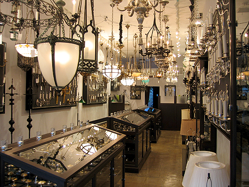 antique lighting | tips from town